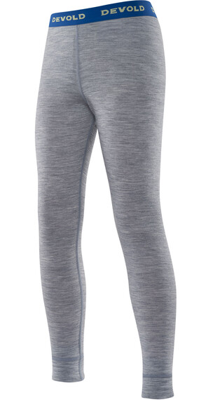 Devold Juniors Breeze Long Johns Greymelange